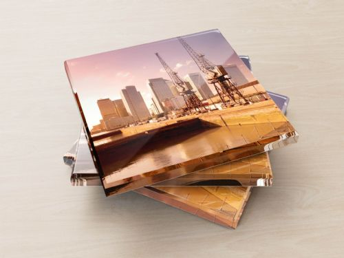 Docklands and Canary Wharf - Glass Coasters